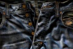Min gamla jeans Arkivfoto