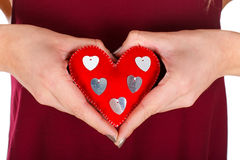 Min hjärta är din, behandla som ett barn Royaltyfria Bilder