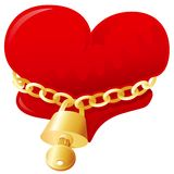 min hjärta låser upp Royaltyfri Bild