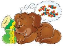 min hund 011 Vektor Illustrationer