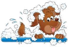 min hund 023 stock illustrationer