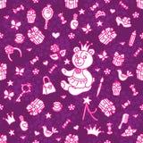 Min lilla prinsessauppsättning Royaltyfria Bilder