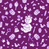 Min lilla prinsessauppsättning Royaltyfri Bild