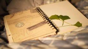 Min loppbok arkivbild