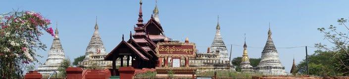 Min O Chan Tha temple. BAGAN, MYANMAR - CIRCA APRIL 2017 Min O Chan Tha temple in old Bagan stock images
