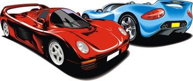 Min original- design för sportbilar Arkivbild