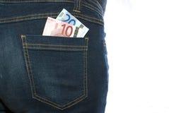 min pengar Fotografering för Bildbyråer