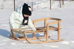min sled Royaltyfri Bild