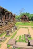 Min son, arv för Vietnam UNESCOvärld Arkivbild