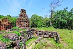 Min son, arv för Vietnam UNESCOvärld Royaltyfria Foton