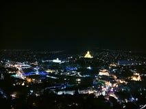 min stad royaltyfria bilder