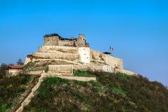 min stad med den gamla citadellen Royaltyfri Bild