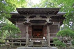 Min Yakushi korridor av den Chuson templet, Hiraizumi royaltyfri foto