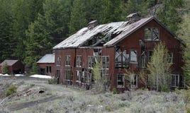 Mina branca do botão perto de Mackay, Idaho foto de stock royalty free