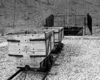 Mina de carbón Foto de archivo libre de regalías
