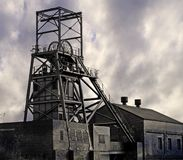 Mina de carbón Imágenes de archivo libres de regalías