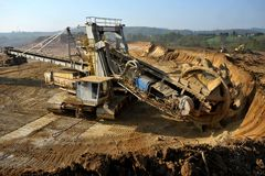 Mina de carbón 13 Fotografía de archivo