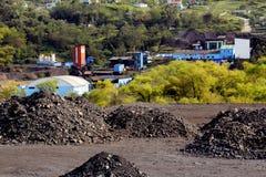 Mina de carbón Imagen de archivo libre de regalías