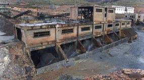 Mina de carbón abandonada. Fotografía de archivo libre de regalías