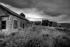 Mina de carbón abandonada Imagenes de archivo