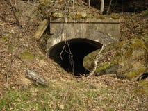 Mina de carbón abandonada Fotos de archivo