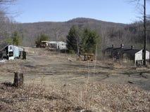 Mina de carbón abandonada de Virginia Occidental fotografía de archivo libre de regalías