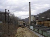 Mina de carbón abandonada en Kentucky foto de archivo libre de regalías