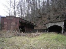 Mina de carbón abandonada en Lynch, KY Imágenes de archivo libres de regalías