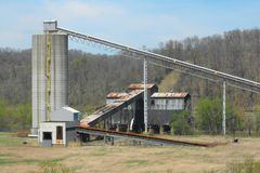 Mina de carbón de Robena Fotos de archivo libres de regalías