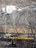 Mina de carbón de Virginia Occidental Imagenes de archivo