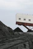 Mina de carbón de Warehouse Fotografía de archivo libre de regalías
