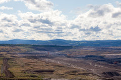 Mina de carbón, la mayoría, República Checa Foto de archivo libre de regalías