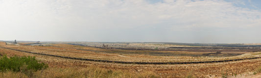 Mina de carbón Maritsa Iztok, Bulgaria Fotografía de archivo libre de regalías