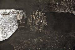 Mina de carbón moderna subterráneo Fotografía de archivo