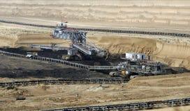 Mina de carbón superficial Foto de archivo libre de regalías