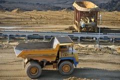 Mina de carbón 11 Fotos de archivo