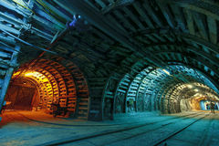 Mina de carbón Imagen de archivo