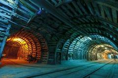 Mina de carvão Imagem de Stock
