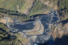 Mina de carvão Fotos de Stock