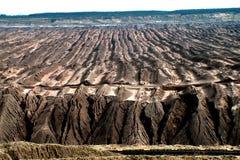 Mina de carvão de Brown Imagens de Stock Royalty Free