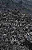 Mina de carvão do poço aberto Fotos de Stock Royalty Free
