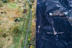 Mina de carvão em Silesia, Polônia imagem de stock royalty free