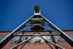 Mina de carvão Ewald da mina, Herten, Alemanha imagem de stock