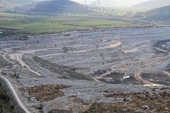 Mina de carvão Pljevlja foto de stock