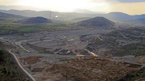 Mina de carvão de Pljevlja imagens de stock royalty free