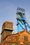 Mina de carvão velha imagem de stock