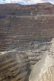 Mina de cobre Foto de Stock Royalty Free