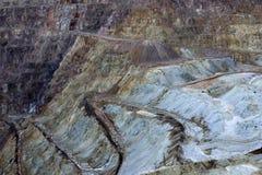 Mina de cobre de Bisbee Fotografia de Stock Royalty Free
