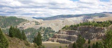 Mina de cobre de la montaña Fotografía de archivo libre de regalías