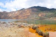 Mina de cobre de Mamut, Sabah, Malásia Imagem de Stock Royalty Free